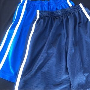 2 Pairs of ACADEMY Athletic Shorts
